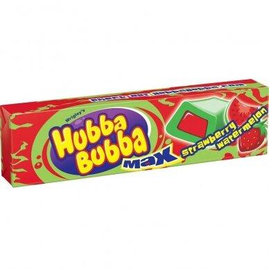 Kramtomoji guma HUBBA BUBBA Max Strawberry Watermelon ( braškių/arbūzų sk.) 35g