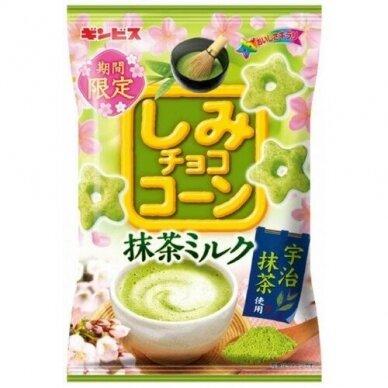 Kukurūzai SHIMI CHOCO CORN MATCHA MILK 55g