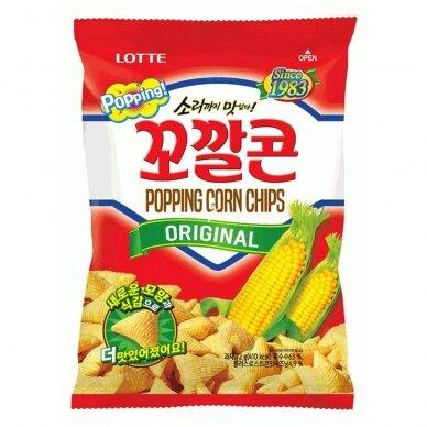 Kukurūzų traškučiai POPPING Corn Original 141g
