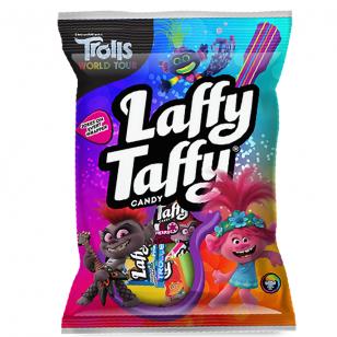 Saldainiai Laffy Taffy Trolls Peg Bag 108g