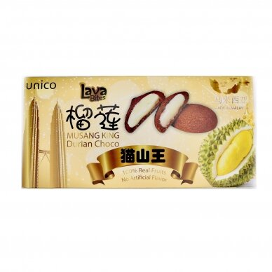 LAVA BITES DURIAN CHOCO 120g