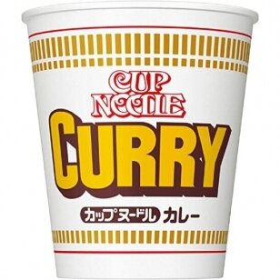 Makaronai CUP Noodle Curry ( Nissin) 87g
