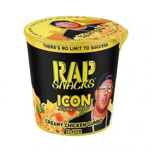 Makaronai RAP SNACKS ICON (Creamy Chicken Gumbo ramen) 64g