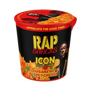 Makaronai RAP SNACKS ICON Louisiana Hot & Spice Chicken 64g