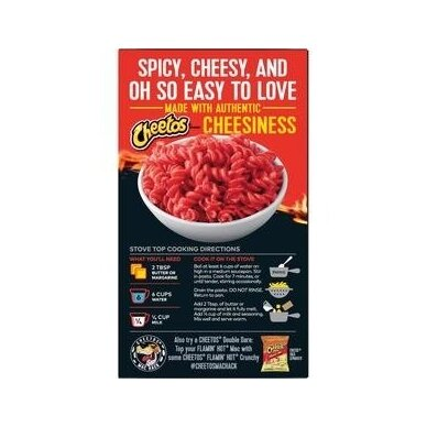 Makaronai CHEETOS Mac' N Cheese Flamin Hot 160g 2