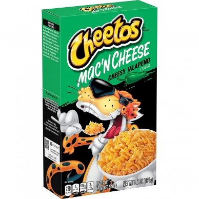 Makaronai CHEETOS Mac'N Cheese Cheesy Jalapeno 164g