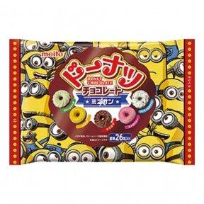 Minions donut choco assorted 142g