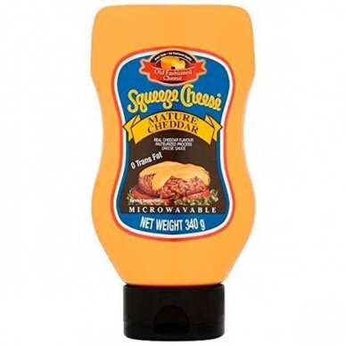 Old Fashioned Foods Mature Squeeze Cheese 354g