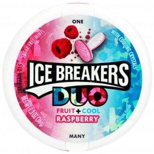 Pastilės ICE BREAKERS Duo fruit Cool Raspberry 42g