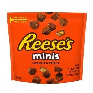 Pieninio šokolado saldainiai REESE'S MINIS 215g