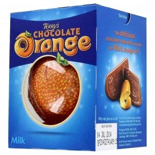 Pieninis šokoladas su apelsinų aliejumi TERRYS ORANGE 157g