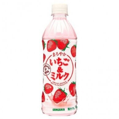 Pieniškas gėrimas MAROYAKA ICHIGO MIRUKU  (braškių sk.) 500ml