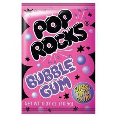 Sproginėjantys saldainiai POP ROCKS ( kramtomos gumos sk.) 9g.
