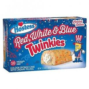 Pyragėliai HOSTESS Red White & Blue Twinkies 385g