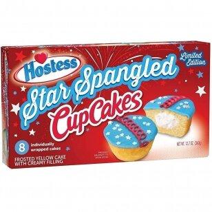 Pyragėliai HOSTESS Star Spangled Cupcakes 385g