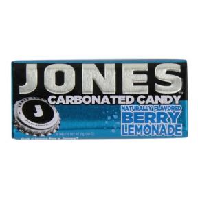 Gazuoti saldainiai JONES Soda Berry Lemonade 28g