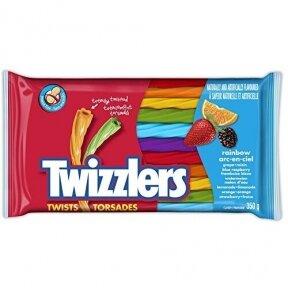 Saldainiai TWIZZLERS Rainbow 350g