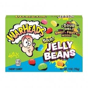 Saldainiai WARHEADS Sour Jelly Beans 113g