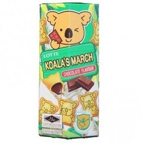 Sausainiai KOALA CHOCOLATE ( šokolado sk.) 37g