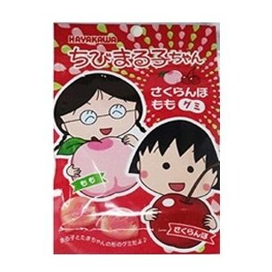 Saldainiai CHIBI MARUKO-CHAN CHERRY & PEACH GUMMY CANDY 40g