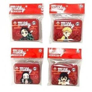 Saldainiai DEMON SLAYER Collab Milky ( metalinėje dėžutėje) 25,2g