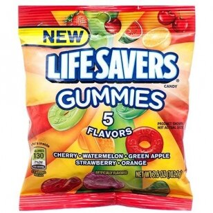 Saldainiai LIFESAVERS 5 Flavours 102g