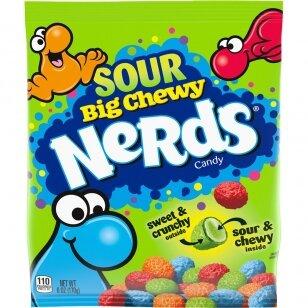 Saldainiai Nerds Big Sour Chewy 170g