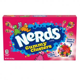 Saldainiai NERDS Clusters 85g