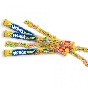 Saldainiai NERDS Tropical Rope 26g