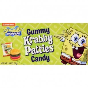 Saldainiai Nickelodeon Spongebob Squarepants Gummy 72g