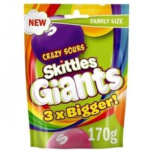 Saldainiai SKITTLES Giant Sours170g