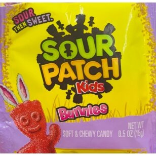 Saldainiai SOUR PATCH Kids Bunnies 15g