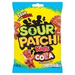 Saldainiai SOUR PATCH Kids Cola 160g