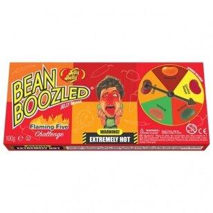 Saldainiai su rulete JELLY BELLY Beanboozled Flamig five 100g