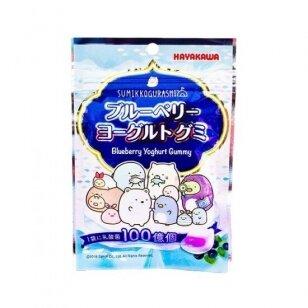 Saldainiai Sumikko Gurashi Blueberry&Yoghurt Gummy 40g