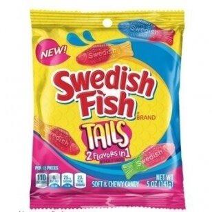 Saldainiai SWEDISH FISH Big Tails 141g