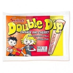 Saldainiai SWIZZELS double dip orange & cherry 18g