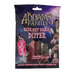 Saldainiai THE ADAMS FAMILY Sherbet shock dipper 84g
