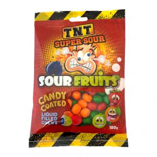 Saldainiai TNT Super Sour Fruits 150g