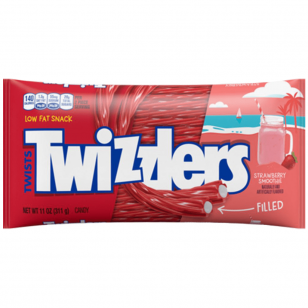 Saldainiai TWIZZLERS Limited Edition Strawberry Smoothe  311g