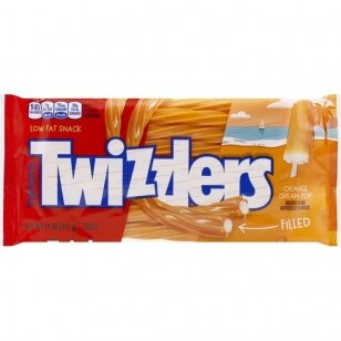 Saldainiai Twizzlers Orange Cream 311g