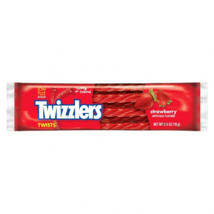 Saldainiai Twizzlers Strawberry Twists 70g