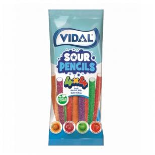 Saldainiai VIDAL Vegan Sour Pencils 100g