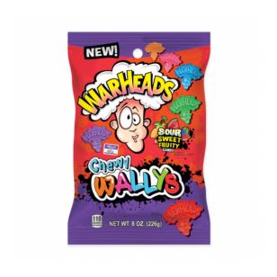 Saldainiai WARHEADS Chewy Wallyd Sour Sweet 226g