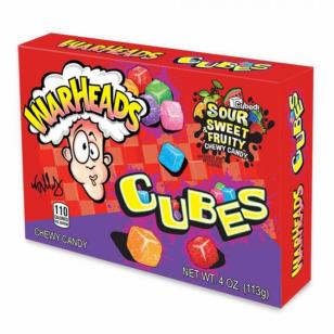 Saldainiai WARHEADS Sour Cubes 113g