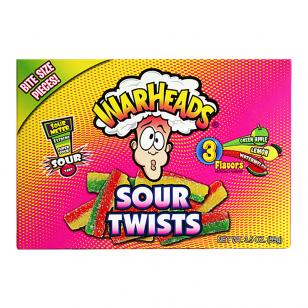 Saldainiai Warheads Sour Twists 99g