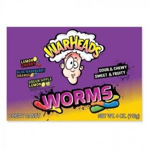 Saldainiai WARHEADS Worms 113g