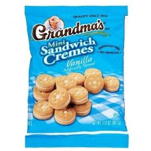Sausainiai GRANDMAS COOKIES - Vanilla mini