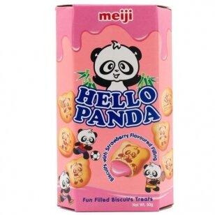 Sausainiai HELLO PANDA ( BRAŠKIŲ SK. ĮDARAS) 59g