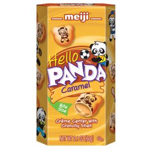 Sausainiai HELLO PANDA Caramel 60g